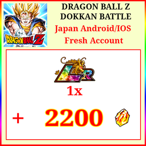 [Japan][Android/IOS] Dokkan Battle Fresh Starters with 2200DS💎1 LR