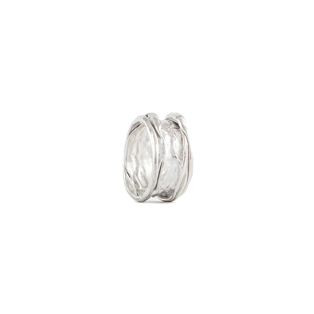 Anillo Crushed en plata .925