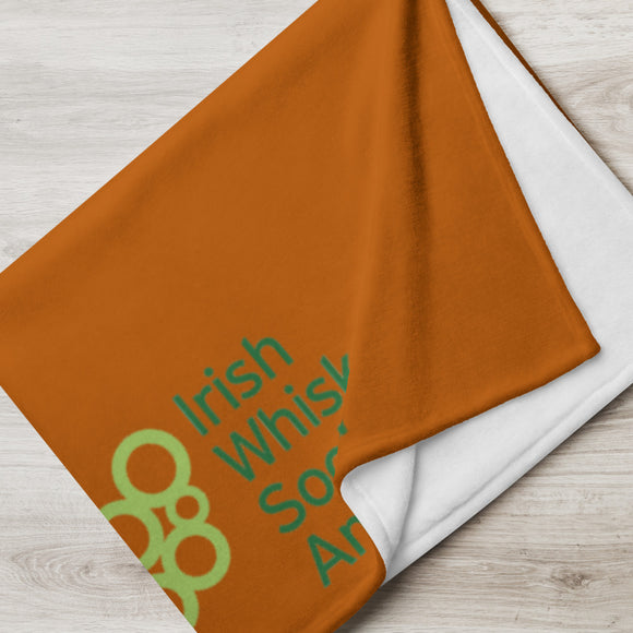 IWSA Logo - Copper Throw Blanket