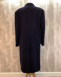 Men's Wool Blend Overcoat Chest UK 38""