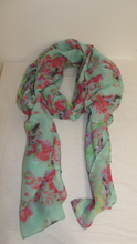 Load image into Gallery viewer, Floral Scarf