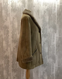 Ladies Sheepskin Coat UK 14