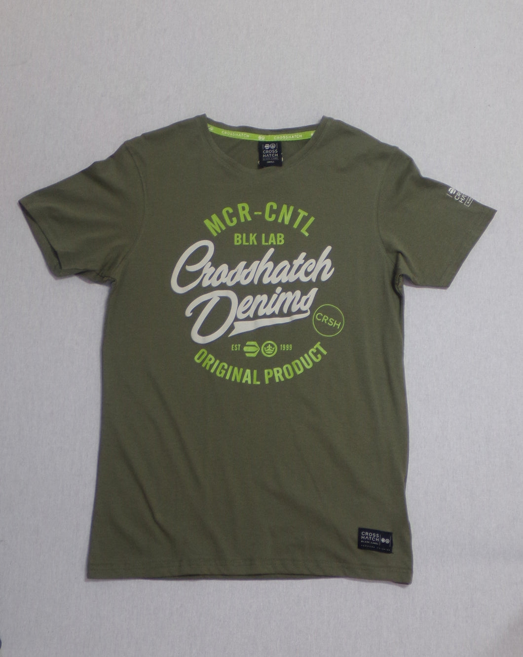 Crosshatch T-Shirt UK S