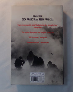 Crossfire. By Dick Francis and Felix Francis. Hardback Book.