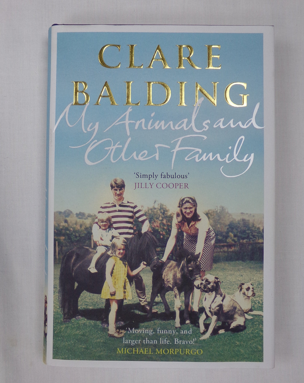 Clare Balding grew up in a rather unusual household. Her father a champion trainer, she shared her life with more than 100 thoroughbred racehorses, mares, foals and ponies, as well as an ever-present pack of boxers and lurchers. As a toddler she would happily ride the legendary Mill Reef and take breakfast with the Queen.  She and her younger brother came very low down the pecking order. Left to their own devices, they had to learn life's toughest lessons through the animals, and through their adventures in
