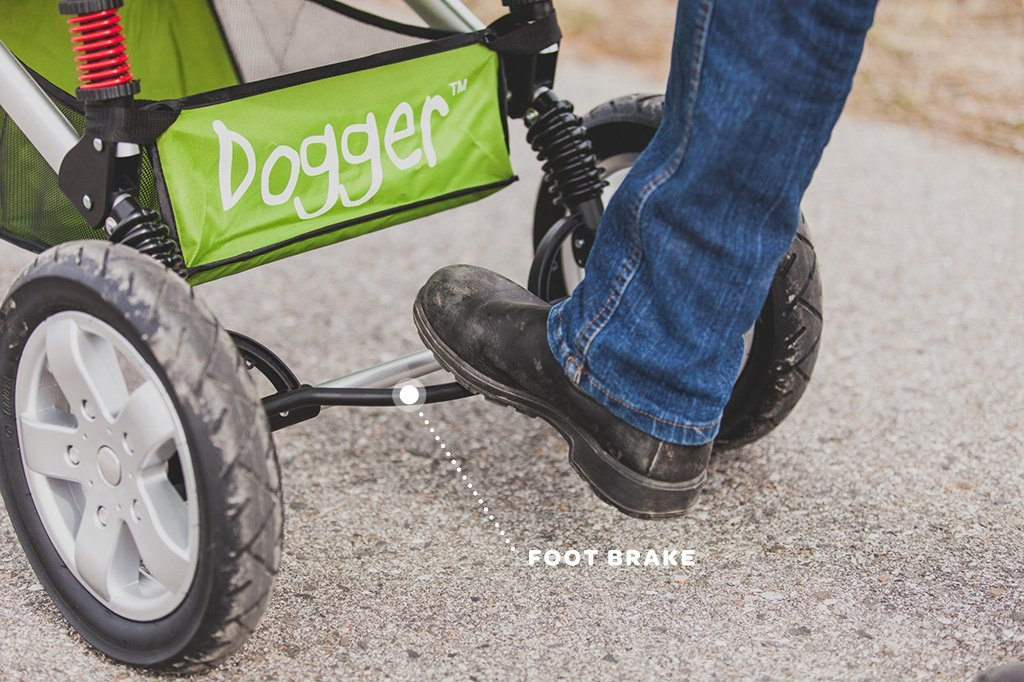 Dogger Buggy With Foot Brake - Dog Quality
