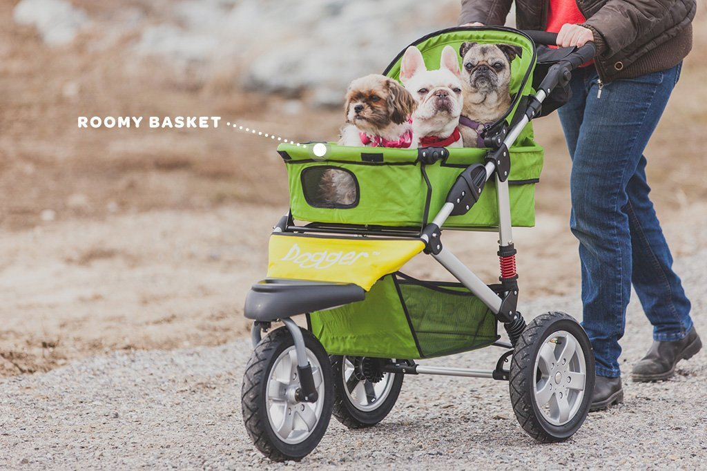 Dogger Buggy With Roomy Basket - Dog Quality