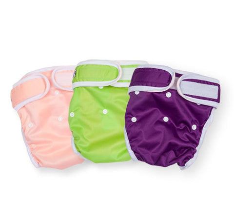 Washable Wonders™ Dog Nappy (Female - No Tail Hole)