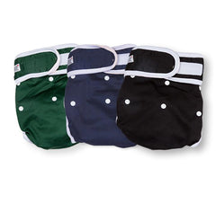 Washable Wonders™ Dog Nappy (Male - No Tail Hole)