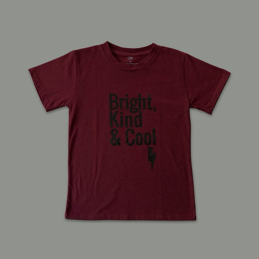 "T-shirt ""BRIGHT, KIND & COOL"" Infantil"