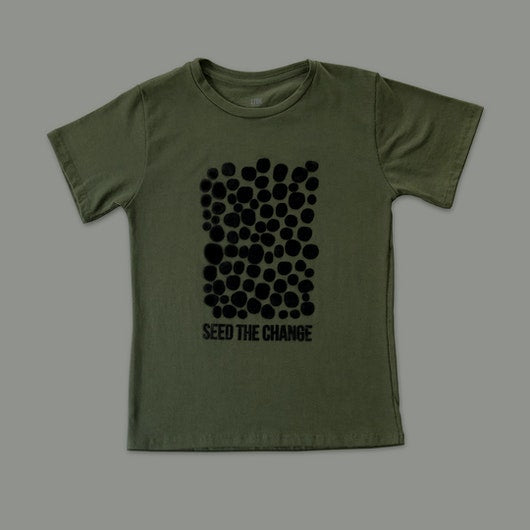 "T-shirt ""SEED THE CHANGE"" Infantil"