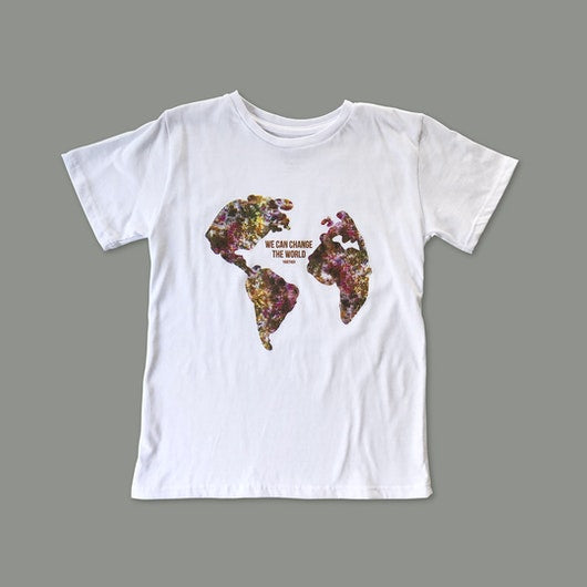 "T-shirt ""WE CAN CHANGE"" Infantil"