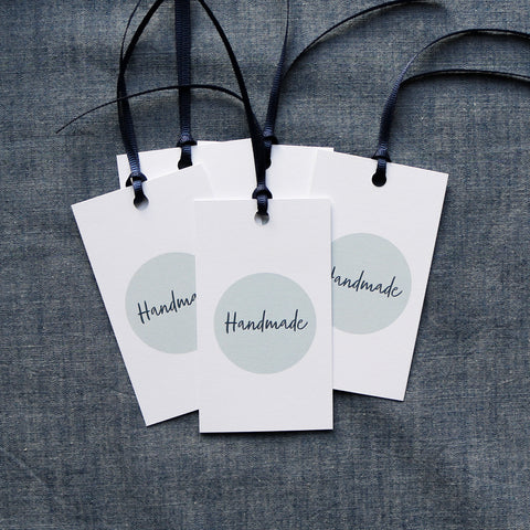 Gift Tags Handwritten Design x 5