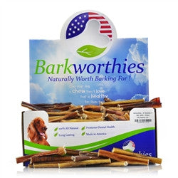 "Barkworthies Bulk- 4"" Odor Free American Bully Sticks - 275ct."