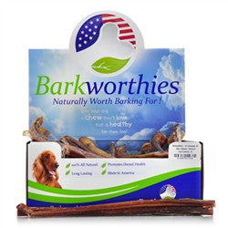 "Barkworthies Bulk- 12"" Odor Free American Bully Sticks - 70ct."