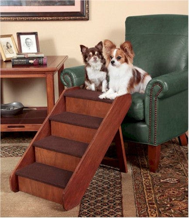 Solvit Pup Step Wood Dog Steps