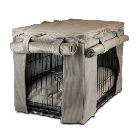 Snoozer Cabana Pet Crate Cover with Pillow Bed