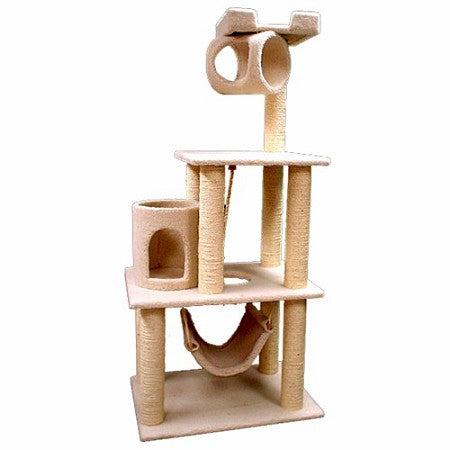 Majestic 62 Inch Bungalow Cat Tree