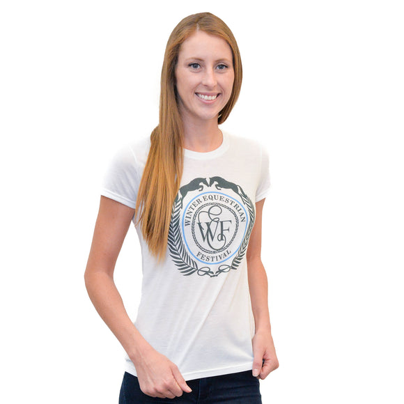 This short-sleeve graphic tee is extremely soft and features the WEF Crest screen printed across the chest.