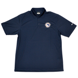 Made from dri-fit moisture-wicking fabric this Nike short sleeve polo shirt is lightweight and breathable, keeping the wearer cool and dry while featuring a classic polo silhouette with a four-button closure and the WEF Flags emblem embroidered on the left side of the chest.