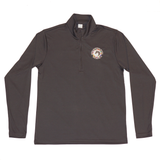 Made from moisture-wicking fabric this quarter-zip performance shirt is lightweight and breathable, keeping the wearer cool and dry while featuring long sleeves and a stand-up collar to protect against the sun, and the WEF Flags emblem embroidered on the left side of the chest.