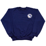 This classic fit crew neck sweatshirt features a knit waistband and cuffs, and the WEF Flags emblem is embroidered on the left side of the chest.