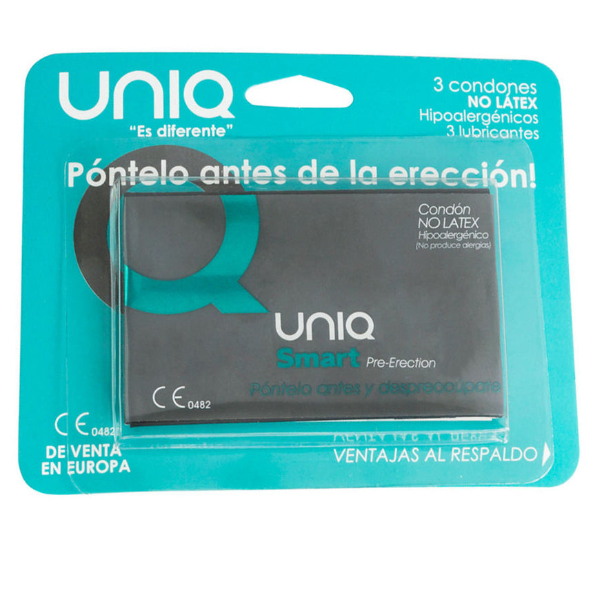 PRESERVATIVO SEM LATEX  3 UNID PRE-ERECTION