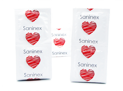 PRESERVATIVOS SANINEX CONDOMS GAY PASSION PUNTEADOS 144 UDS