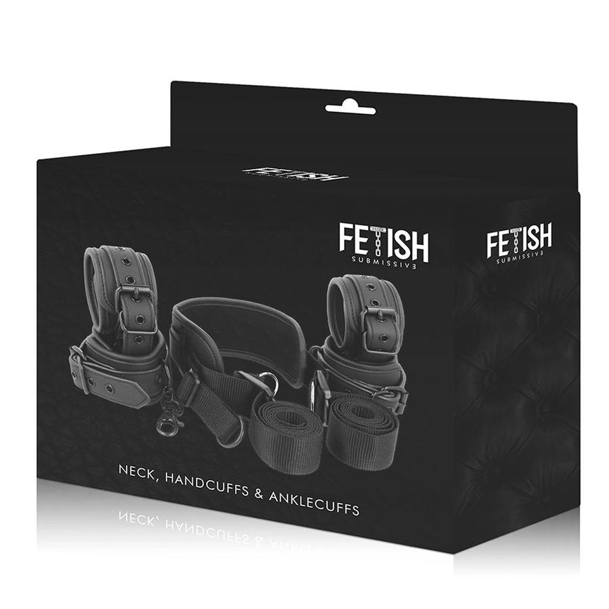 KIT COM 4 ALGEMAS FETISH SUBMISSIVE
