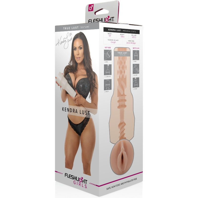 MASTURBADOR VAGINA FLESHLIGHT GIRLS KENDRA LUST
