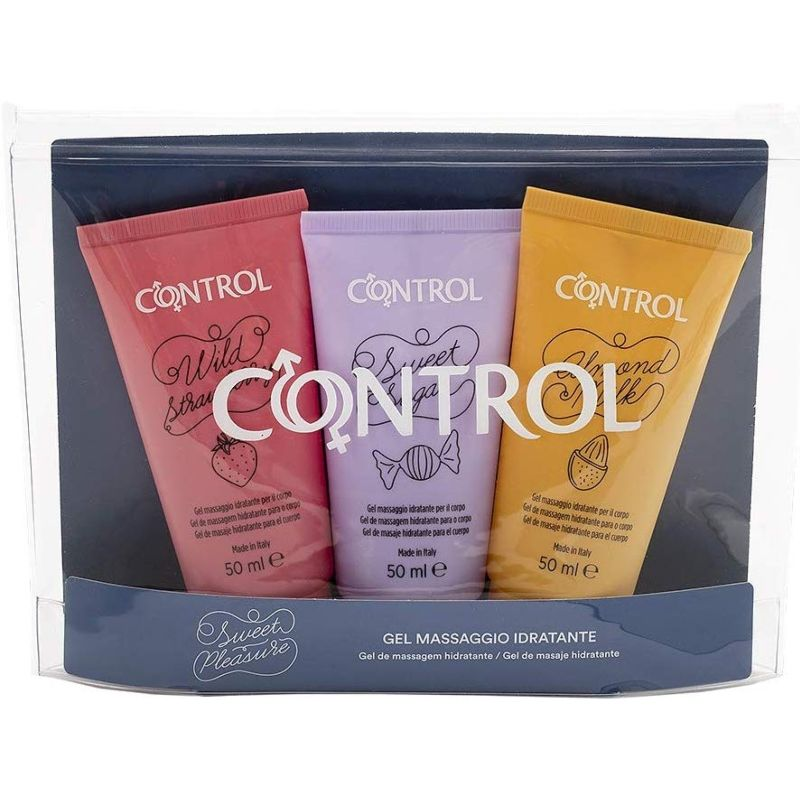 GEL MASSAGEM 3 UNIDADES 50 ML CONTROL
