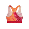 Orange Liquid Sports Bra