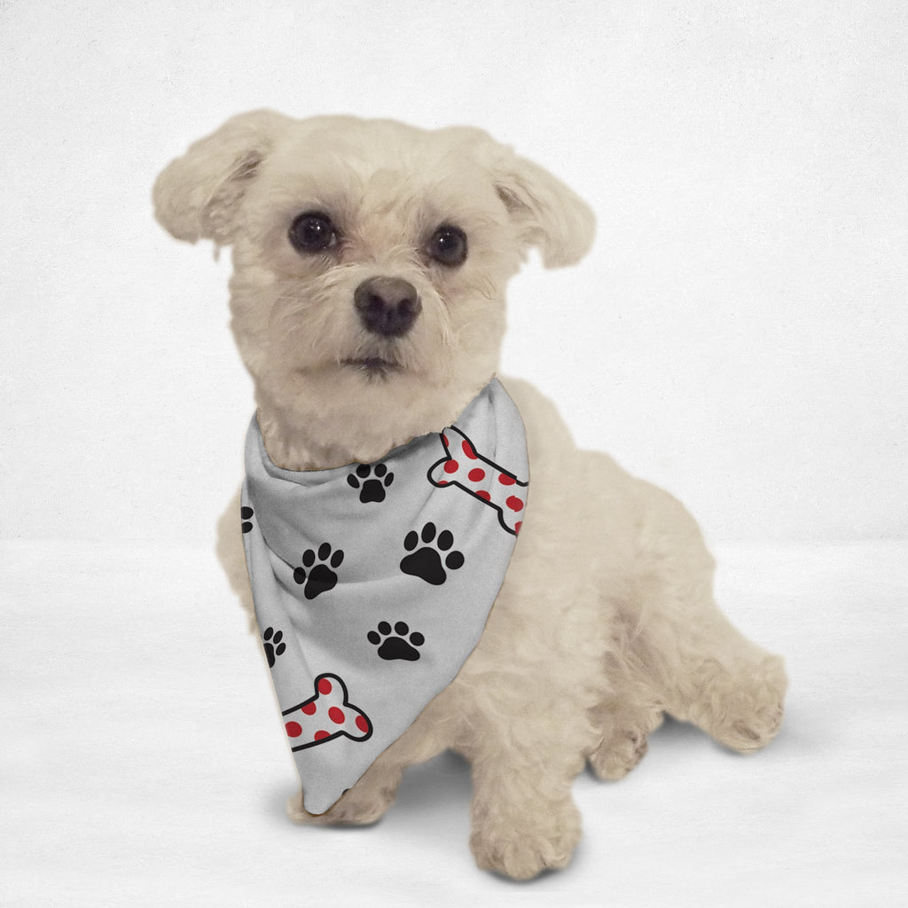 Candy Cane Bones Cat & Dog Bandana