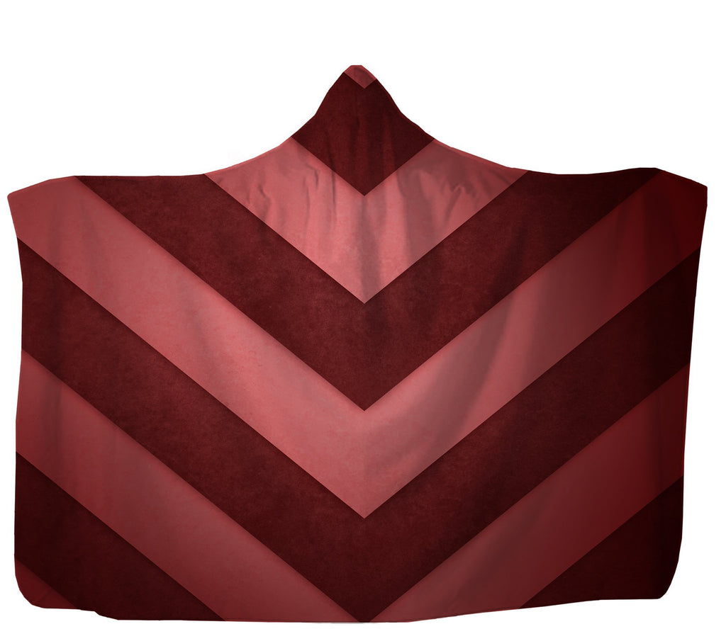 Red Arrows Hooded Blanket