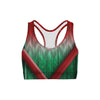Holiday Wrap Sports Bra