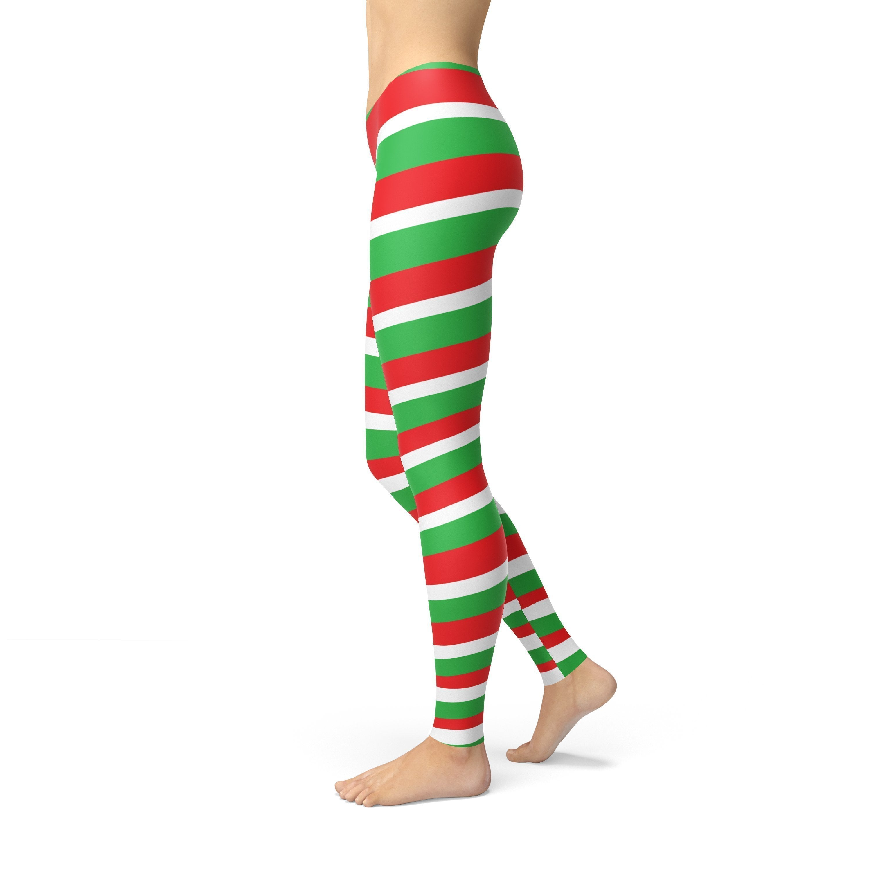 Avery Red Green Candy Cane