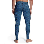 Men's Blue Rock Tights
