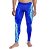 Men's Blue Lightning Tights