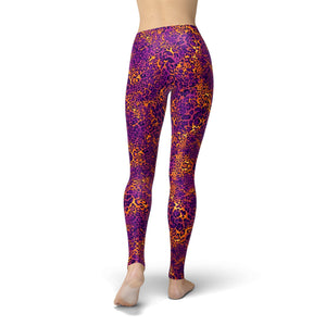 Jean Purple Cheetah Print