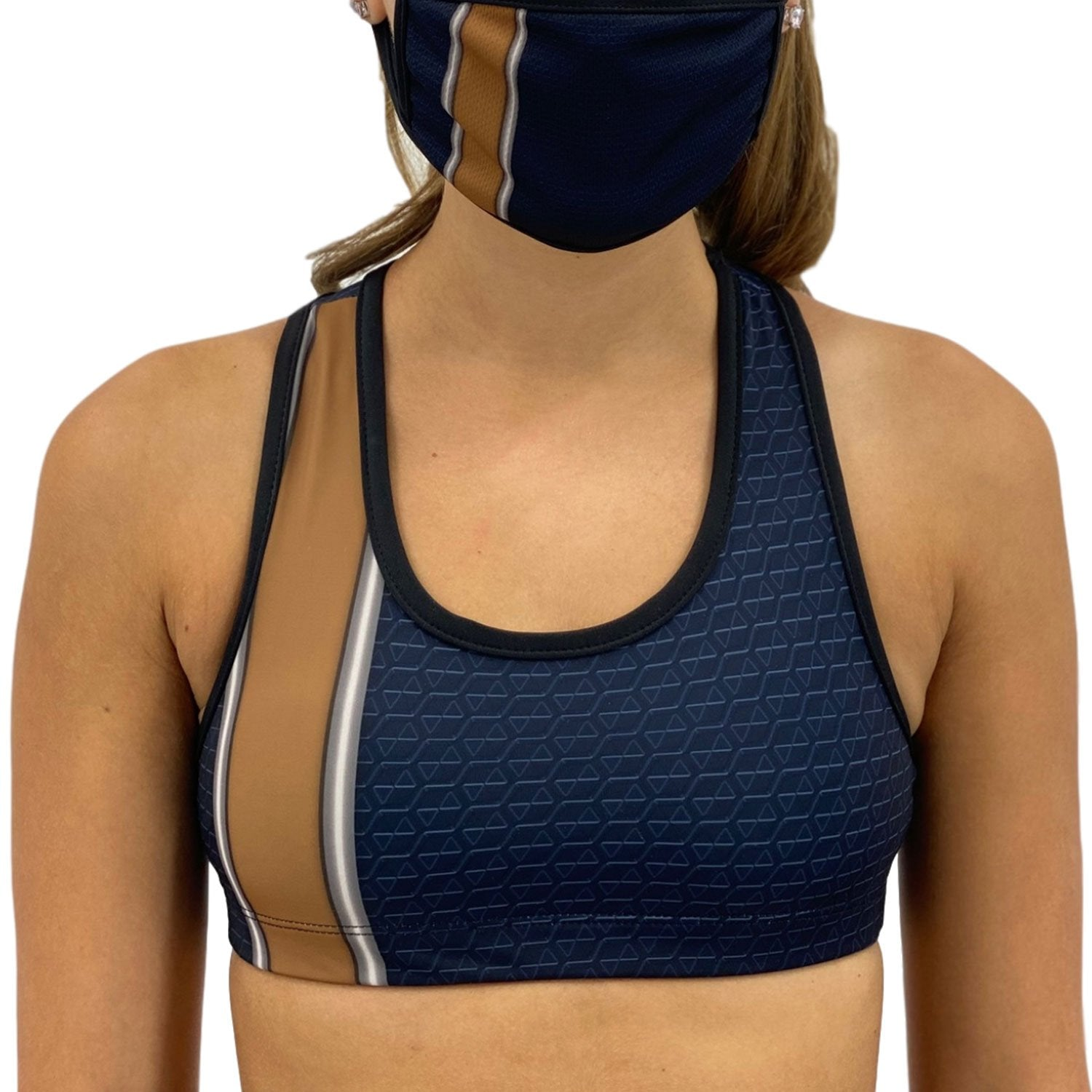 Los Angeles Football Sports Bra