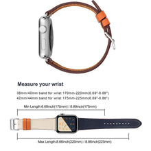 Load image into Gallery viewer, CRESTED Store - Leather Apple Watch Bands - 14 Color Options - 38mm, 40mm, 42mm, 44mm