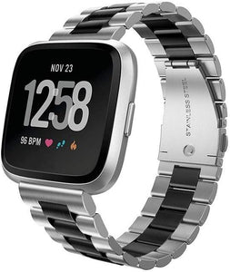 CRESTED Store - Stainless Steel Metal Fitbit Band For Versa, Versa 2, Versa Lite - 9 Color Options