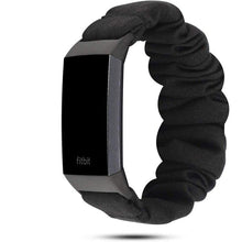 Load image into Gallery viewer, Jollychic - Elastic Scrunchie Fitbit Band For Charge 3 & 4 - Eight Color Options
