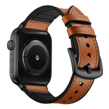 Load image into Gallery viewer, Lcaple - Leather Apple Watch Bands - 4 Color Options - 38mm, 40mm, 42mm, 44mm