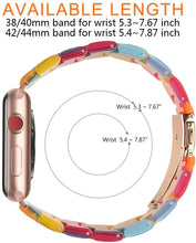 Load image into Gallery viewer, Lcaple - Resin Apple Watch Bands - 35 Color Options - 38mm, 40mm, 42mm, 44mm