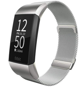 Lcaple - Stainless Steel Metal Fitbit Band For Charge 3 & 4 - 11 Color Options