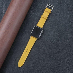 Lerxiuer Official - Leather Apple Watch Bands - 19 Color Options - 38mm, 40mm, 42mm, 44mm