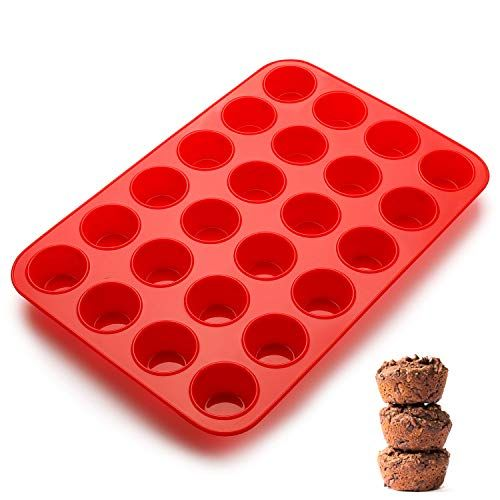 MOLDE DE SILICON HORNEABLE PARA MINI MUFFIN