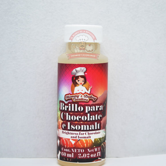 BRILLO PARA CHOCOLATE E ISOMALT 60ML