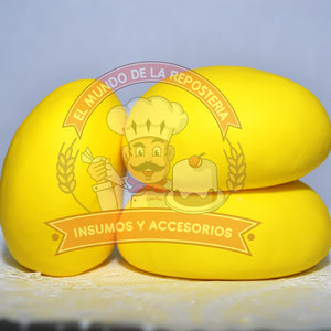 FONDANT DE 150GR COLOR AMARILLO